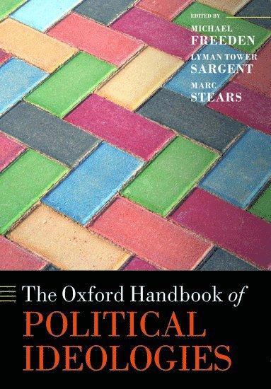 bokomslag The Oxford Handbook of Political Ideologies