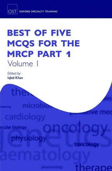 bokomslag Best of five mcqs for the mrcp part 1 volume 1