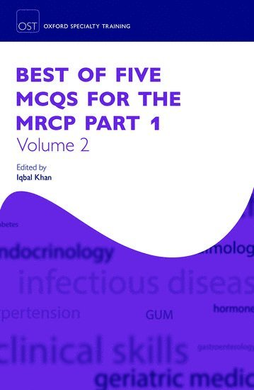 bokomslag Best of five mcqs for the mrcp part 1 volume 2