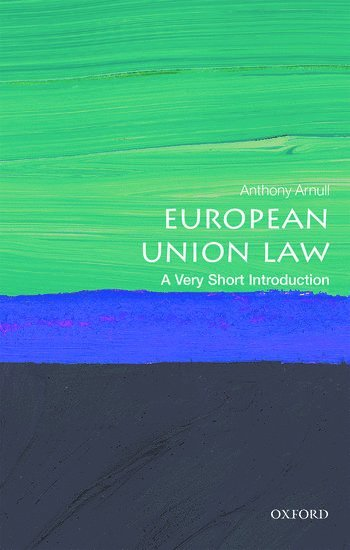 bokomslag European Union Law: A Very Short Introduction