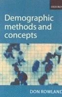 bokomslag Demographic Methods and Concepts