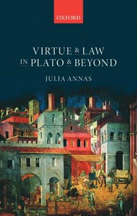 bokomslag Virtue and law in plato and beyond