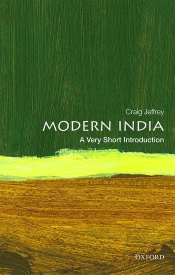 bokomslag Modern India: A Very Short Introduction