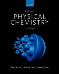 bokomslag Atkins' Physical Chemistry