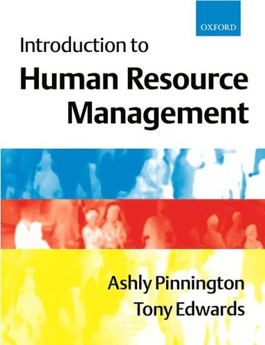 bokomslag Introduction to Human Resource Management