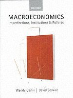 bokomslag Macroeconomics - imperfections, institutions, and policies