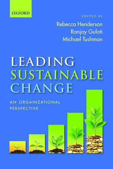 bokomslag Leading Sustainable Change