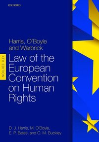 bokomslag Harris, O'Boyle, and Warbrick: Law of the European Convention on Human Rights