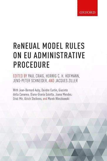 bokomslag ReNEUAL Model Rules on EU Administrative Procedure