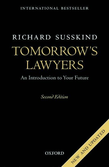 bokomslag Tomorrow's Lawyers: An Introduction to Your Future