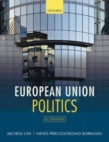 bokomslag European Union Politics