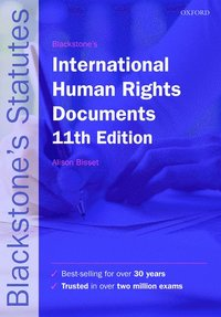 bokomslag Blackstone's International Human Rights Documents 11th Edition