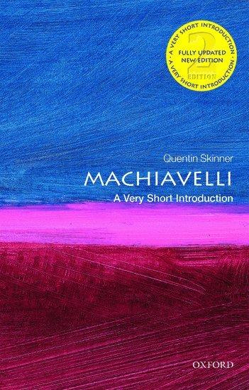 bokomslag Machiavelli: A Very Short Introduction