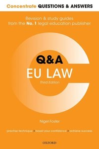 bokomslag Concentrate Questions and Answers EU Law