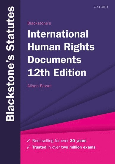 Blackstone's International Human Rights Documents 1