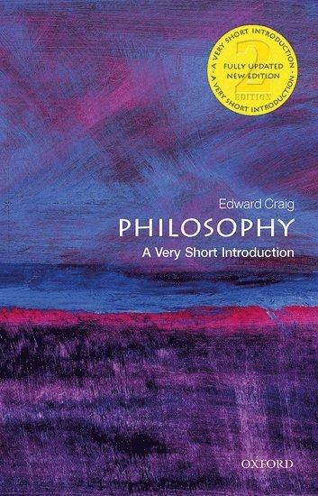 bokomslag Philosophy: A Very Short Introduction