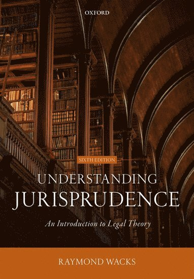 bokomslag Understanding Jurisprudence : An Introduction to Legal Theory