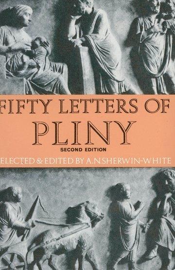 bokomslag Fifty letters of pliny
