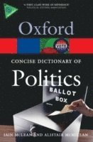 bokomslag Concise oxford dictionary of politics