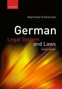 bokomslag German Legal System and Laws