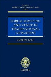 bokomslag Forum Shopping and Venue in Transnational Litigation