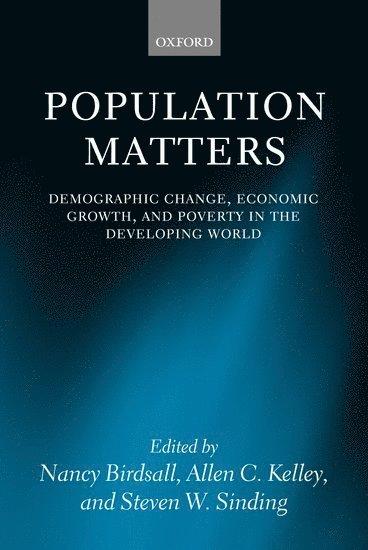 bokomslag Population Matters