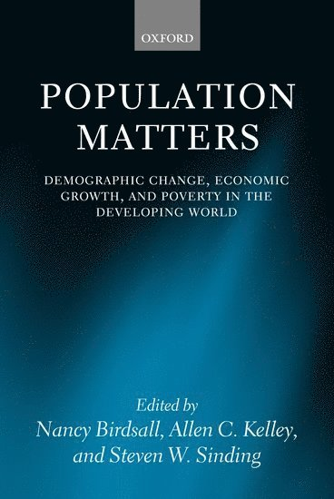 bokomslag Population Matters: Demographic Change, Economic Growth, and Poverty in the Developing World