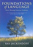bokomslag Foundations of Language