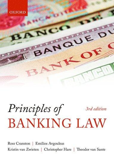 bokomslag Principles of Banking Law