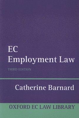 bokomslag Ec employment law