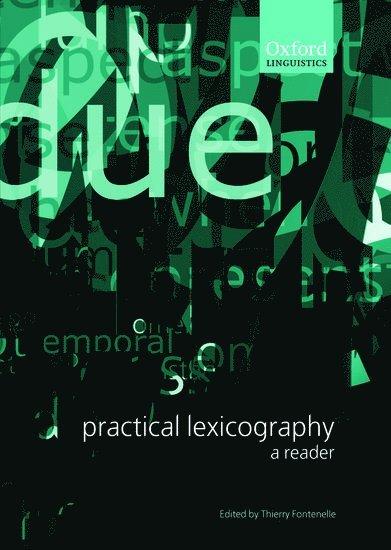 Practical Lexicography 1