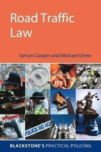 bokomslag Road Traffic Law