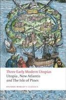 bokomslag Three Early Modern Utopias