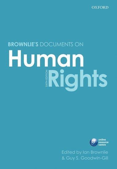 bokomslag Brownlie's Documents on Human Rights