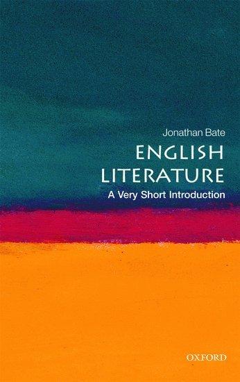 bokomslag English literature: a very short introduction