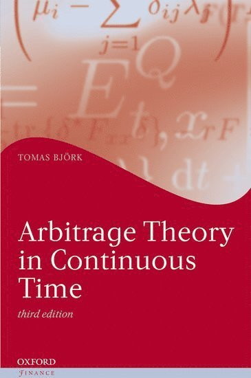bokomslag Arbitrage theory in continuous time