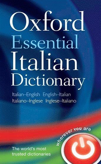 bokomslag Oxford essential italian dictionary