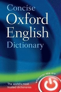 bokomslag Concise oxford english dictionary