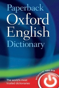 bokomslag Paperback oxford english dictionary