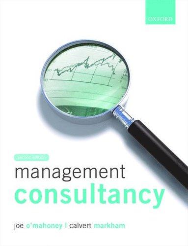 bokomslag Management Consultancy