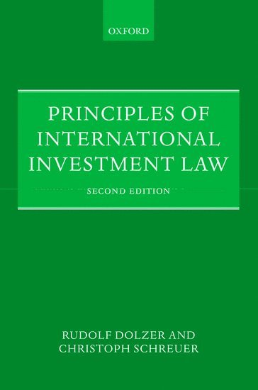 bokomslag Principles of international investment law