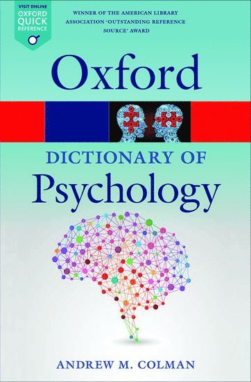 bokomslag Dictionary of psychology
