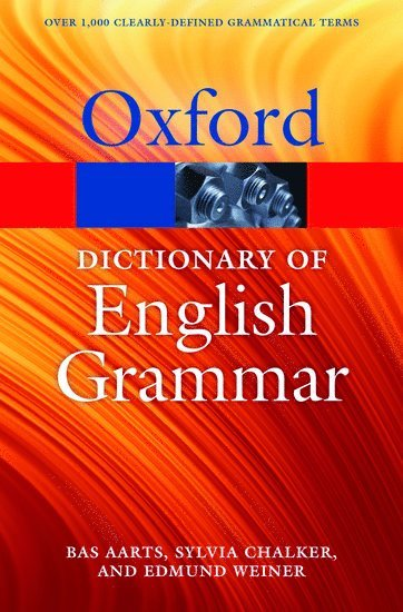 bokomslag The Oxford Dictionary of English Grammar
