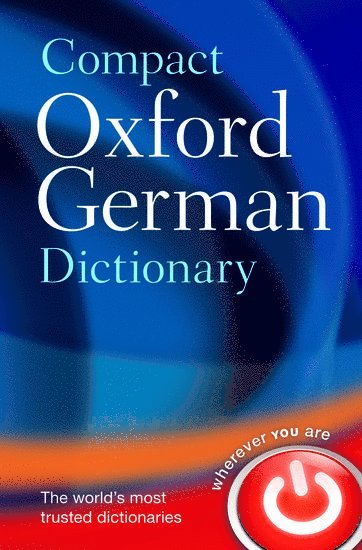 bokomslag Compact oxford german dictionary