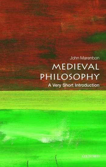 bokomslag Medieval Philosophy: A Very Short Introduction
