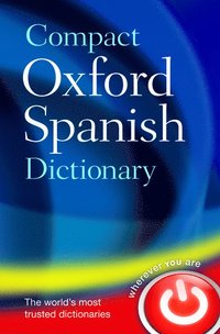 bokomslag Compact Oxford Spanish Dictionary