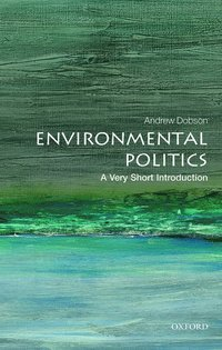 bokomslag Environmental politics: a very short introduction