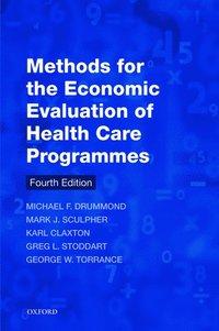 bokomslag Methods for the Economic Evaluation of Health Care Programmes