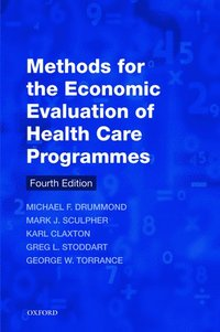 bokomslag Methods for the Economic Evaluation of Health Care Programmes