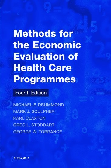Methods for the Economic Evaluation of Health Care Programmes 1